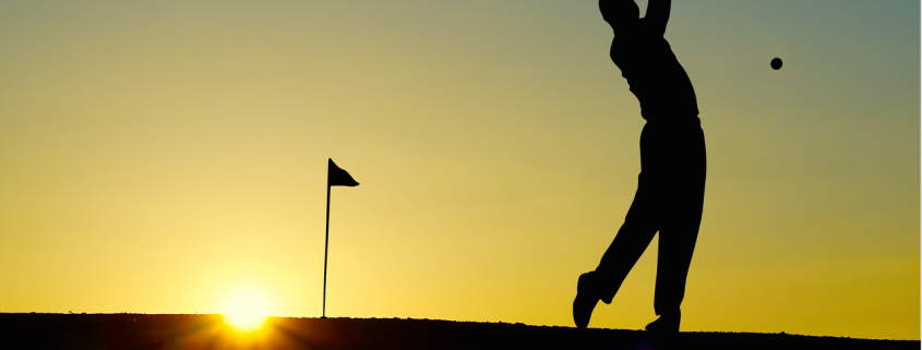 Golf i skymningen